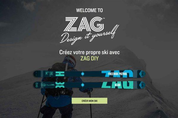 ZAG : personnalise tes skis pour la saison qui arrive !