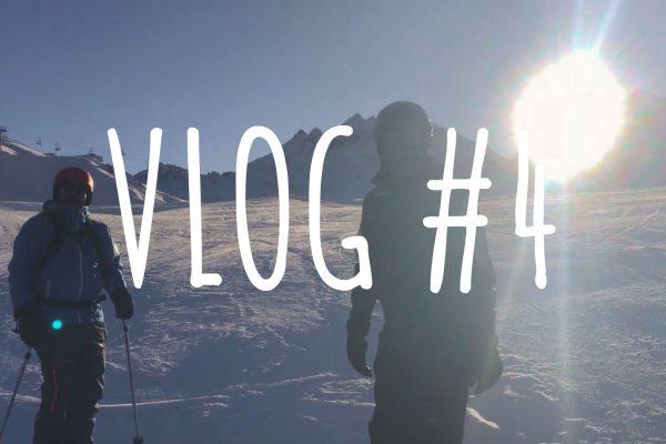 Le VLOG #4 — Boulot et Tignes ⛷ !